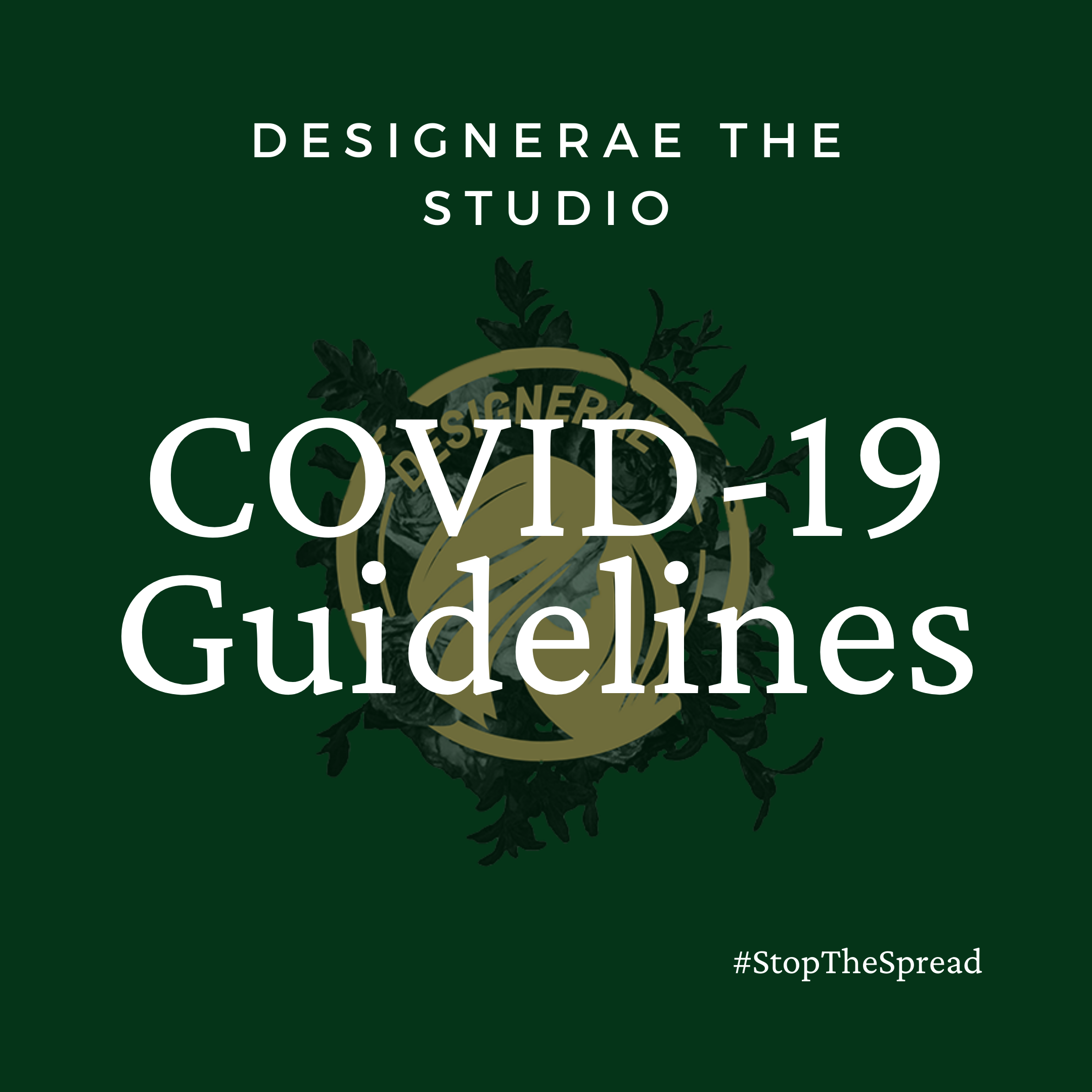 New Guidelines Starting May 15th 2020